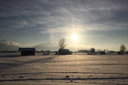Herrlicher Spaziergang im Neuschnee
