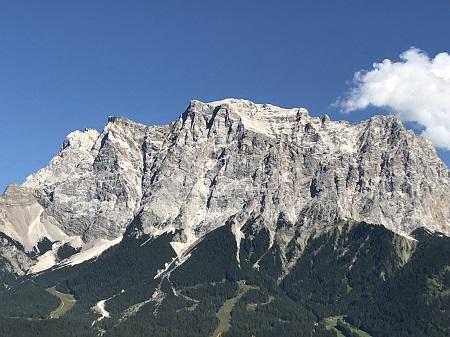 Lermoos in der österreichischen Zugspitzregion am Fuße der Zugspitze