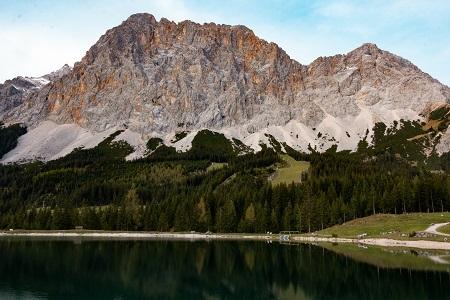 Ehrwald am Fuße der Zugspitze
